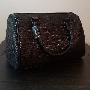 Express Black Sequin BAG